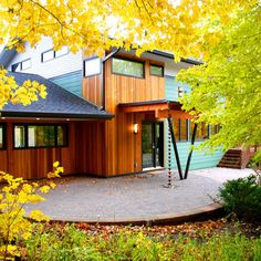 Teak the o 39 jays and commercial on pinterest for Modern house siding solutions