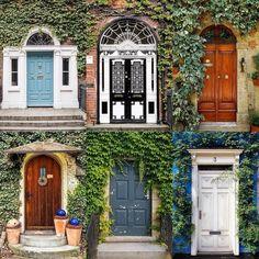 Doors by:  R1C1: @briesoldo R1C2: @sahuckaby R2C1: @rainbowsinajar R2C2: @arielanimates R3C1: @yasminedocze R3C2: @n.galanos  Congratulations!  Tag #windowsanddoorsoftheworld to be featured!