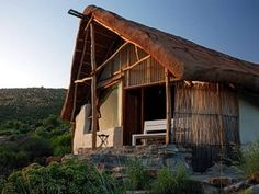 You can huff and puff and not blow down this straw bale house if Oudrif, South Africa. Huff And Puff, South Africa, Places To Visit, Cabin, House Styles, World, October, Travel, The World