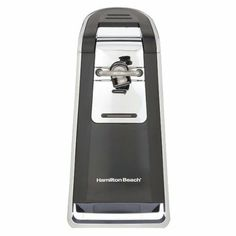 Hamilton Beach 76606Z Smooth Touch Can Opener, Black and Chrome Reviews #SmallAppliances  List Price: $ 29.99 Price: $ 31.76 Kitchen Product FeaturesElectric can opener opens cans of any size, including pop-topsSide-cutting system removes top and leaves a ... http://computer-s.com/electric-can-openers/the-wonderful-stylish-world-of-electric-can-openers/