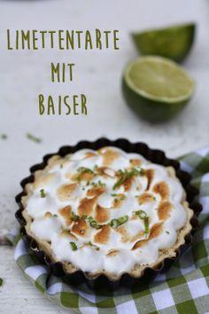 HerzStück: Ich backs mir - Thema: Zitrusfrüchte - Limettentarte #ichbacksmir