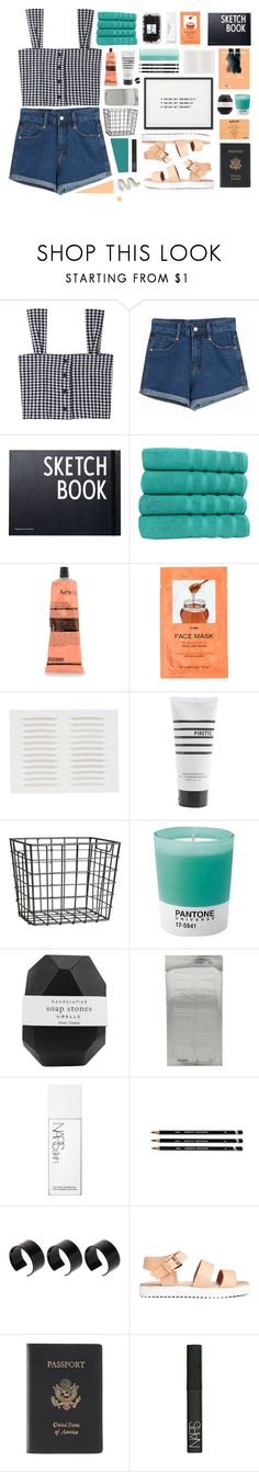 """i haven't really changed i'm just confident"" by norathealien ❤ liked on Polyvore featuring Chicnova Fashion, Design Letters, Makroteks, Aesop, H&M, Pirette, Pantone, Pelle, NARS Cosmetics and ASOS"