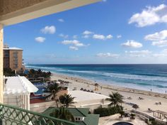 View from left side of balcony in Caribbean Oceanfront Suite