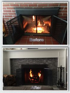 My Fireplace Inspired by Pinterest