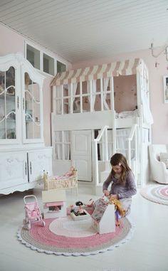 kinder abenteuerbett mit romantischem baumhaus design ... - Kinder Abenteuerbett Hochbett Ideen Kinderzimmer