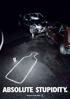 Drinking and driving is one of the worst things you can do as an adult, and you are absolute scum if you do. These hard hitting adverts show the reality of the situation.