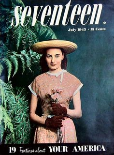 vintage seventeen magazine covers | Vintage Clothing Blog | Adored Vintage Blog | For all things vintage ...