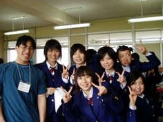 high school in japan - Google Search-    Unlike the American school system, the Japanese school system only requires elementary and junior high school to be mandatory.(MW)