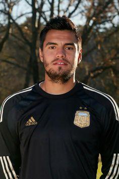 Jugadores de la selección Argentina Mundial Brasil 2014 - Sergio Romero