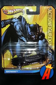 2012 DC Comics Universe Variant Batman Batmobile 1/64 die-cast vehicle from Hot Wheels