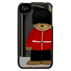 Londonbeary #London iPhone 4 Case