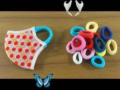 ☔Make Face Mask With Hair Rubber Bands 💙 Stylish Face Mask 🌹 How to Make Face Mask at Home ! ☔Make Face Mask With Hair Rubber Bands 💙 Stylish Face Mask 🌹 How to Make Face Mask at Home ! - YouTube<br> Face Masks For Kids, Easy Face Masks, Diy Face Mask, Sewing Patterns Free, Free Pattern, Pocket Pattern, Hair Rubber Bands, Easy Knitting Projects, Creation Couture