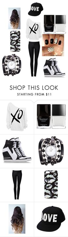 """""""B3AUTI3"""" by minnieblasin ❤ liked on Polyvore featuring xO Design, Butter London, CA by Cinzia Araia, Ezra, Witchery, Markus Lupfer, Blonde + Blonde and Charlotte Russe"""