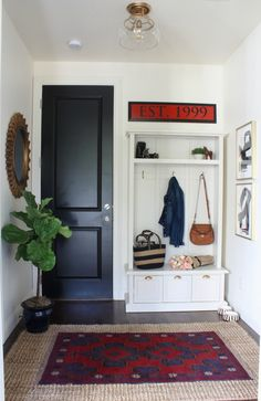 Mudroom Makeover from Pretty Practical Home