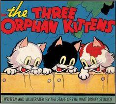 THREE ORPHAN KITTENS - from Disney Studios, 1935
