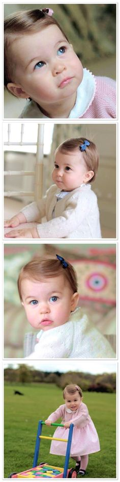 Happy 1st Birthday Princess Charlotte!! It seems like yesterday when Kate stepped out of St.Marys hospital carrying a bundled up tiny baby Charlotte- With Love, Rachel Oheb