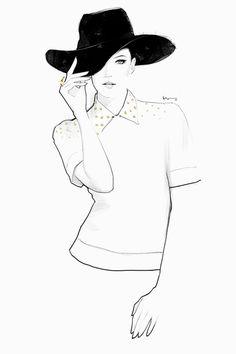 #fashion #illustration by Floyd Grey