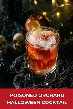 Looking for fun Halloween party ideas? Your guests will love this Poisoned Orchard cocktail. This Halloween cocktail is a guest favorite and full of apple flavor for the perfect fall cocktail. Halloween Cocktails, Halloween Party, Halloween Ideas, Happy Halloween, Brandy Cocktails, Fall Cocktails, Craft Cocktails, Fall Recipes, My Recipes