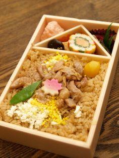 Chicken Rice Ekiben   Akita, Japan 鶏めし弁当
