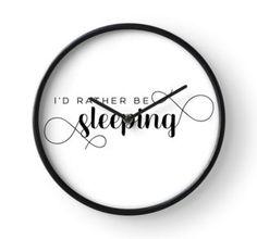 Clock Framed Prints, Canvas Prints, Art Prints, Art Boards, Duvet Covers, Clock, Sleep, Decor, Art Impressions