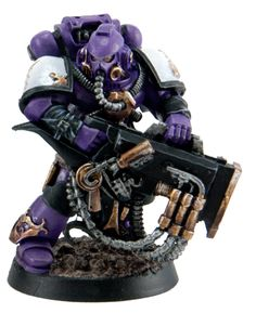 One of the first malignant tools made manifest in the Emperor's Children Legion after the Horus Heresy were the strange and experimental psycho-sonic weapons that would come to be known as the Cacophony or 'Kakophoni' in the ancient form. They were savagely powerful but also dangerously unpredictable in their first incarnations.