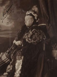 Queen Victoria of the United Kingdom ~ on the day of her Diamond Jubilee.A♥W