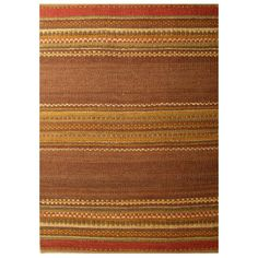 Acura Rugs Diana Brown / Gold Contemporary Rug - GR-530