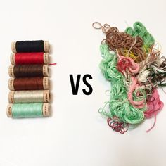 Quick Aurifloss review. Aurifil thread, embroidery floss