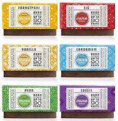Aromaterapia en un #packaging envuelto de #texturas
