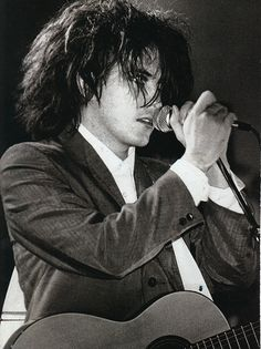 young Robert Smith of The Cure