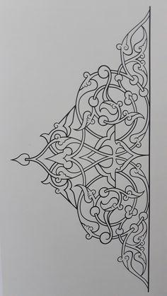 Islamic Motifs, Islamic Art Pattern, Arabic Pattern, Textile Pattern Design, Pattern Art, Pottery Painting Designs, Mehndi Art Designs, Pattern Coloring Pages, Arabic Calligraphy Art