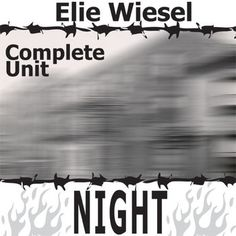 Worksheet Night Elie Wiesel Worksheets night by elie wiesel worksheets and memoirs on pinterest unit teaching package memoir level