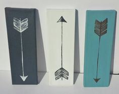 Hey, I found this really awesome Etsy listing at https://www.etsy.com/listing/215985895/canvas-painting-arrow-painting-3-peice