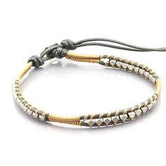 Vintage Style Vriendschap Weven Lichtmetalen wrap armband (CLJ-B-291) – EUR € 5.51