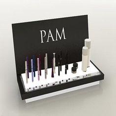 Acrylic Cosmetic POP Displays   Cosmetic Store POS Displays ...