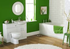 déco de toilette et idées de couleurs pour salle de bains
