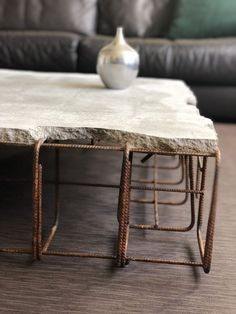 Concrete coffee table – Concrete coffee table – Related posts: 39 Easy DIY Coffee Table Inspiration Ideas – Coffee Table Design Inspiration – DIY Coffee table with hidden storage 11 Modern Farmhouse Table Design Ideas that … Concrete Furniture, Concrete Wood, Cool Furniture, Furniture Design, Concrete Coffee Table, Diy Coffee Table, Coffee Table Design, Coffee Ideas, Coffee Coffee