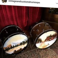 @agpainteddrumheads AG hand painted replica vintage & custom bass drum heads will be on display at the Sydney @vintageandcustomdrumexpo coming 14th August 2016 at the Factory Theatre #drums #drumming #drumexpo #vintagedrums #drumkit #drumlife #sydney #australia