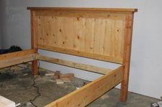 King Farmhouse Bed