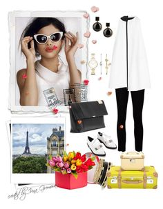 Untitled #75 by iv-gromova on Polyvore featuring polyvore fashion style Victoria, Victoria Beckham The Row Victoria Beckham GUESS Marc by Marc Jacobs FOSSIL Dot & Bo Lonely Planet J.Crew GALA women's clothing women's fashion women female woman misses juniors