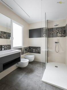 BAÑO EN SUITE: Baños de estilo minimalista de ambau taller d´arquitectes Bathroom Design Luxury, Bathroom Tile Designs, Bathroom Interior, Interior Design Living Room, Small Downstairs Toilet, Bathroom Cart, Sweet Home Design, Modern Master Bathroom, Bathroom Organisation