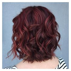 50 Shades of Burgundy Hair Dark Burgundy, Maroon, Burgundy with Red,... ❤ liked on Polyvore featuring beauty products, haircare and hair styling tools