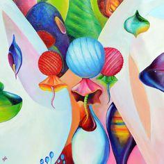 S/T. Oleo sobre lienzo. 50 x 50 cm. 300€