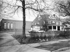 Heights Jewish Center (Cleveland Heights, Ohio)  DescriptionBlack-and-white photograph of Heights Jewish Center, 14274 Superior Road. The house was built as a residence ca. 1909 on the estate of Louisa Stone and operated for a time as a sanitarium.