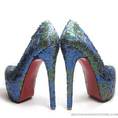 Christian Louboutin.....um I need these as my bridesmaid shoes!