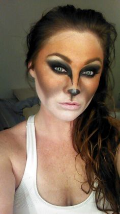 Fox makeup- for a fox and the hound photoshoot??