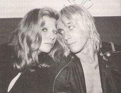 Bebe Buell and Iggy Pop