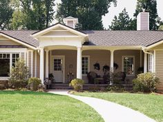 cool ranch style house additions. Decorating Diva Tips  Top Ways to Improve The Exterior Appeal of Ranch Style Homes Adding A Front Porch To House For the Home Pinterest