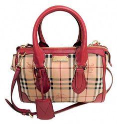588dd9760f1f  1995 - Burberry Haymarket Gladstone Tote Bag  Pradahandbags Burberry  Handbags