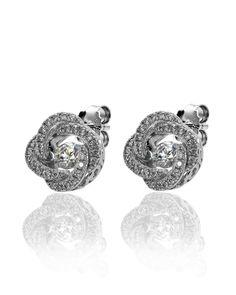 Shimmering Stone, Cubic Zirconia, Earring